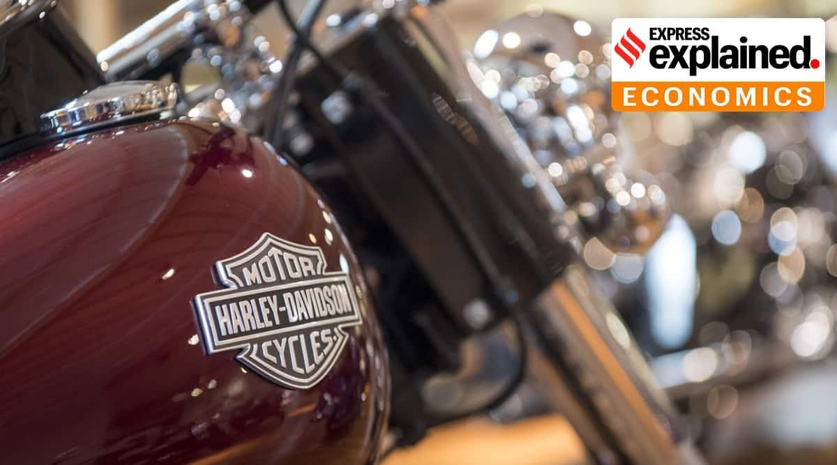 Hero Harley tie up, Harley Davidson, Hero MotoCorp, Harley Davidon in India, Harley exits India, Indian Express