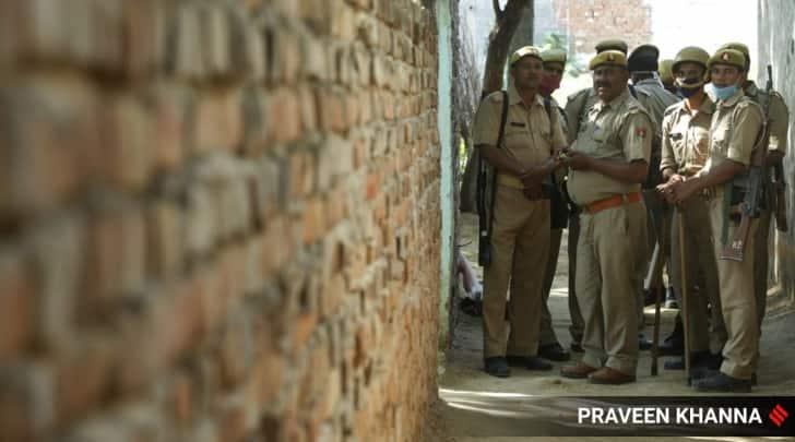 hathras case, hathras protests, hathras gangrape, yogi adityanath, up police, indian express
