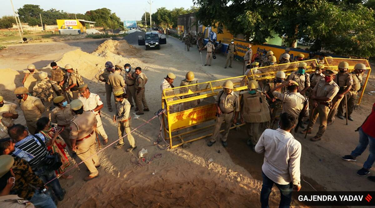 Hathras: 300 police personnel lock down grieving family, entire village