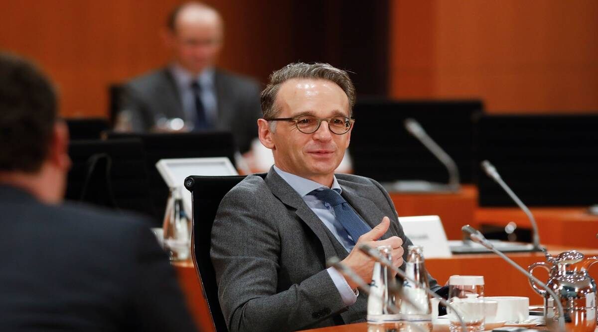 Heiko Maas, Germany, German Foreign Minister