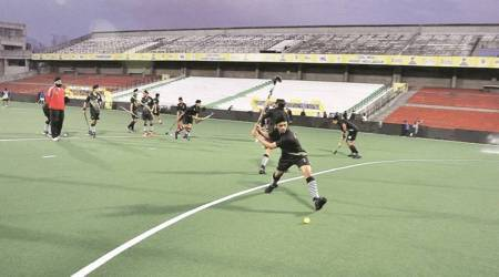 Chandigarh hockey stadium, centres of excellence, Chandigarh Hockey Academy, Chandigarh news, Punjab news, Indian express news
