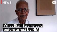 Bhima-Koregaon case: What Stan Swamy said before arrest by NIA