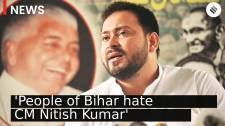Crowds in our rallies show people of Bihar hate CM Nitish: Tejashwi Yadav