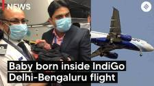 Premature Baby born inside IndiGo Delhi-Bengaluru flight