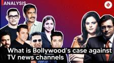 What Bollywood's case against TV news channels is all about