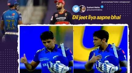 How netizens reacted to an incident-packed Mumbai Indians vs Royal Challengers Bangalore