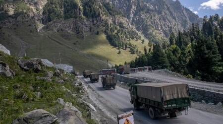 """The Army said in a statement on Saturday: """"During early hours of 08 January 21, a Chinese soldier was apprehended on the Indian Side of the LAC, in Ladakh, in area South of Pangong Tso lake. The PLA soldier had transgressed across the LAC and was taken into custody by Indian troops deployed in this area."""""""