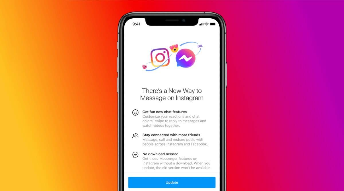 Instagram, Instagram Messenger integration, Messenger, Instagram new features, Instagram Messenger, Instagram DMs new features, Instagram update, Messenger update