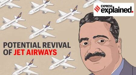 jet airways, Jet airways revival, Jet airways acquisition, Jet Airways share price, Murari Lal Jalan, Jet airways grounded, Indian Express