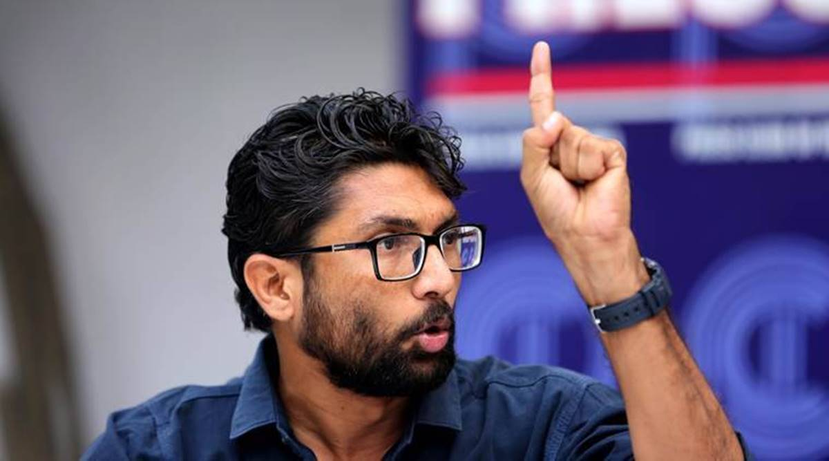 Court begins trial against Mevani, 9 others for 2017 Azadi Kooch