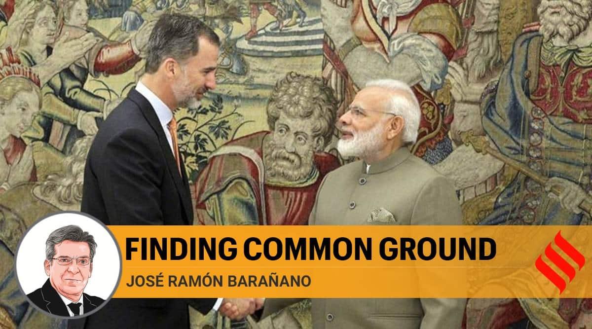 india spain, india spain relations, prime minister narendra modi, pm modi, King Felipe VI, Mariano Rajoy, covid 19, spain coronavirus cases, indian express opinion