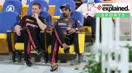 Dinesh Karthik, Dinesh Karthik captain, Dinesh Karthik KKR, Eoin Morgan, Eoin Morgan KKR captain, IPL 2020 KKR, Indian Express
