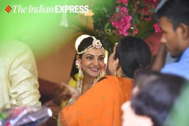 Kajal Aggarwal wedding haldi