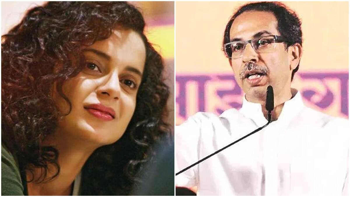 'Worse product of nepotism': Kangana Ranaut hits out at Maharashtra CM Uddhav Thackeray - The Indian Express