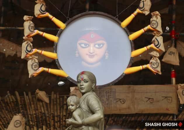 Durga puja, durga, durga puja idols, durga puja west bengal