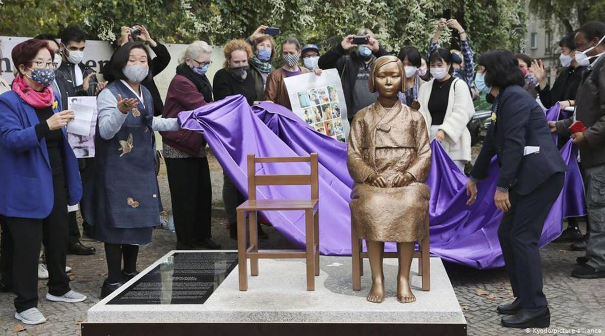 Japan angered by unveiling of Korean 'comfort woman' statue in Berlin