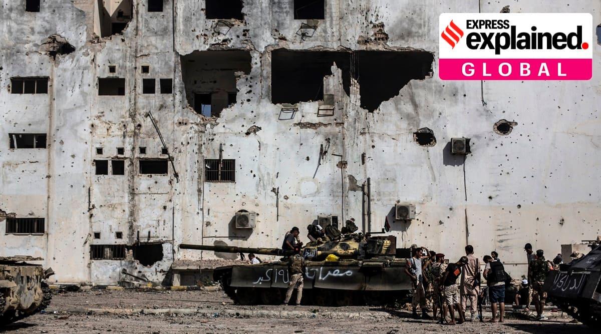 Libya ceasefire, Libya ceasefire explained, Libya news, Libya war, Libya, Indian Express