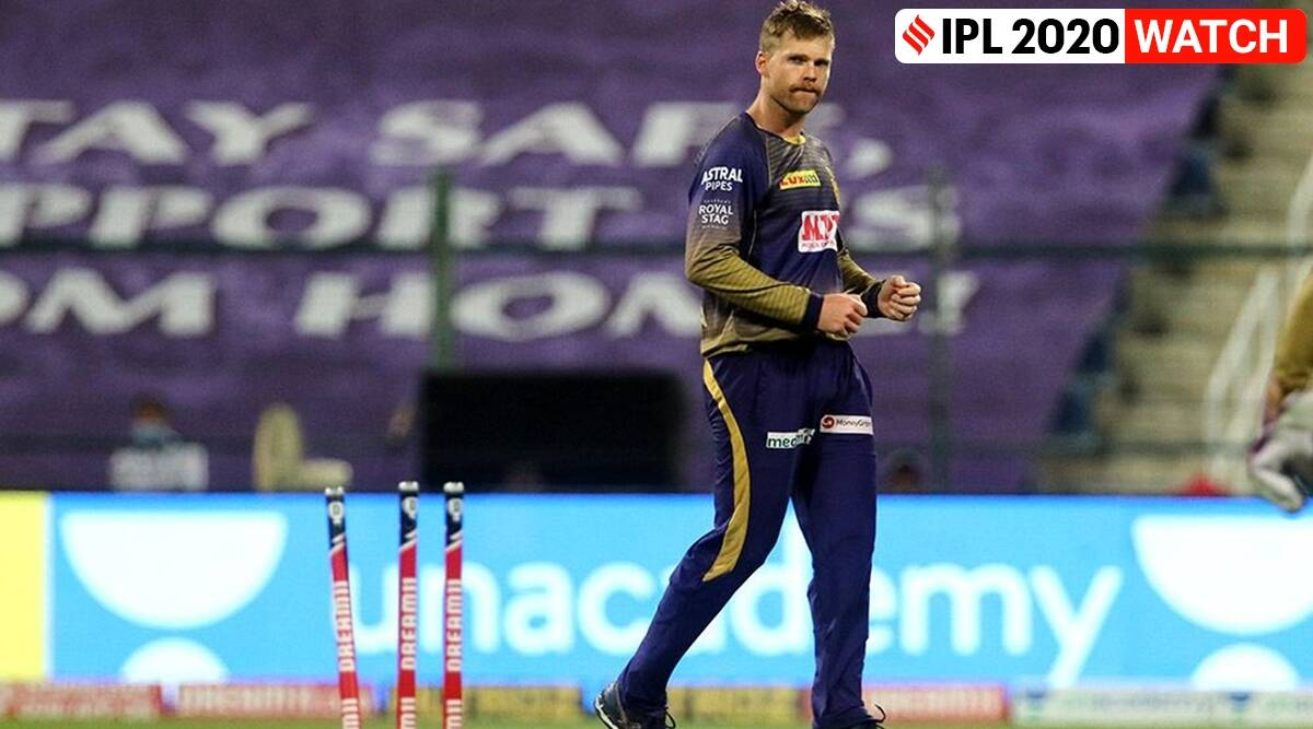 ipl 2020, lockie ferguson, lockie ferguson kkr, lockie ferguson srh vs kkr, lockie ferguson super over video