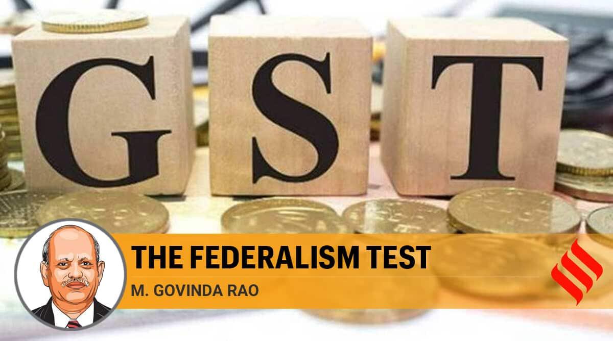 GST revenue, states gst revenue compensation, states gst revenue borrowing, GST revenue states loss, states on GST revenue loss, GST revenue loss, CAG, Nirmala Sitharaman, Narendra Modi, India news, Indian Express