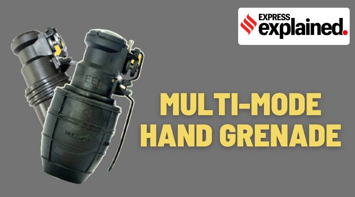 Multi-Mode Hand Grenades, what is Multi-Mode Hand Grenades, MMHG, MMHG features, Multi-Mode Hand Grenades features, Indian Express