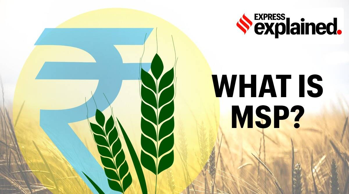 Minimum support price, MSP, MSP explained, What is MSP, Farm Bills MSP, Farm Bills 2020, MSP for farmers, Indian Express