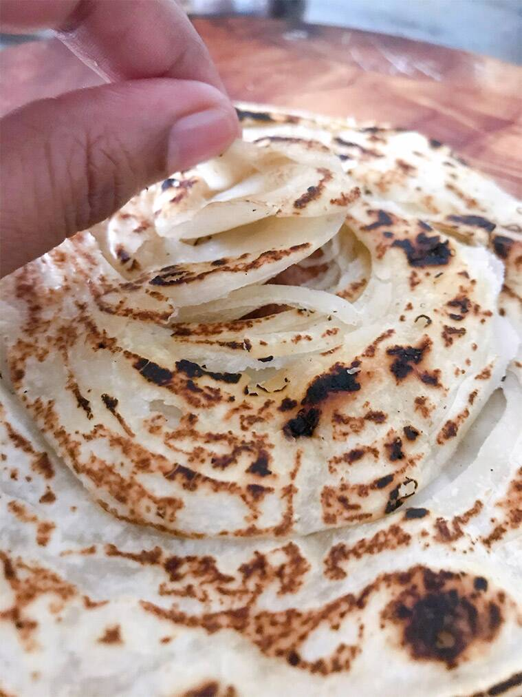 Kerala recipes, parotta recipe, malabar parotta, kerala parotta, Indian flatbreads, the back burner, south indian recipes, indian express lifestyle