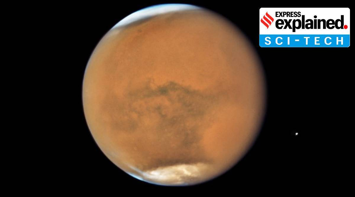 Mars opposition, what is opposition of planets, mars closest to earth, why is mars brightest, mars brightest october, indian express, express explained