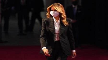 Melania Trump face mask
