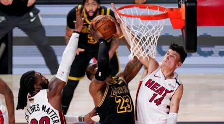 Miami heat vs Lakers, NBA finals