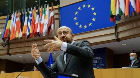 European Council President, Charles Michel, Brexit