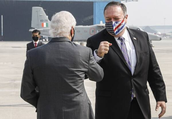 Mike Pompeo, Mike Pompeo in India, India US meeting, Mike Pompeo Jaishankar meeting, US India relations, india news