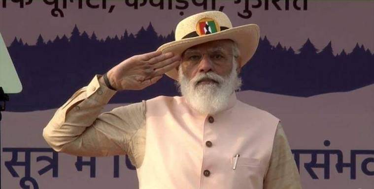 Narendra Modi, Pulwama attack, PM Modi on Pulwama, Pak comment on Pulwama attack, Vallabhbhai Patel birth annivarsary, PM Modi in Gujarat, Rashtriya Ekta Diwas, Statue of Unity, India news, Indian express