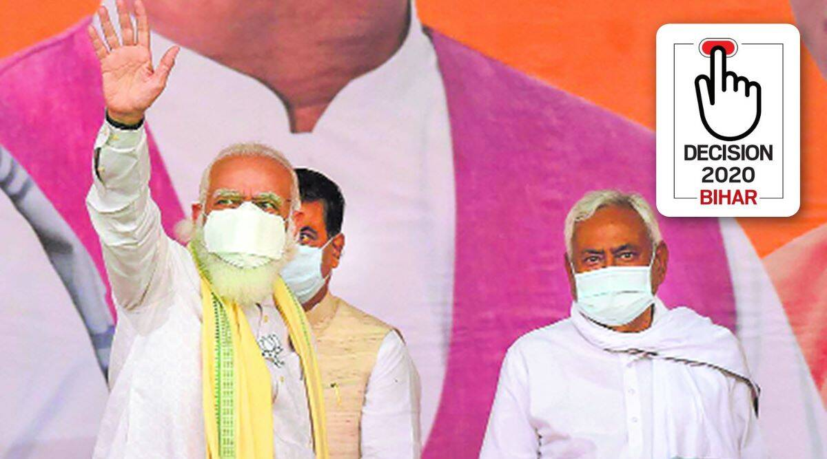 Nitish by his side, PM kicks off campaign citing Galwan, Art 370 and 'naya Bihar'