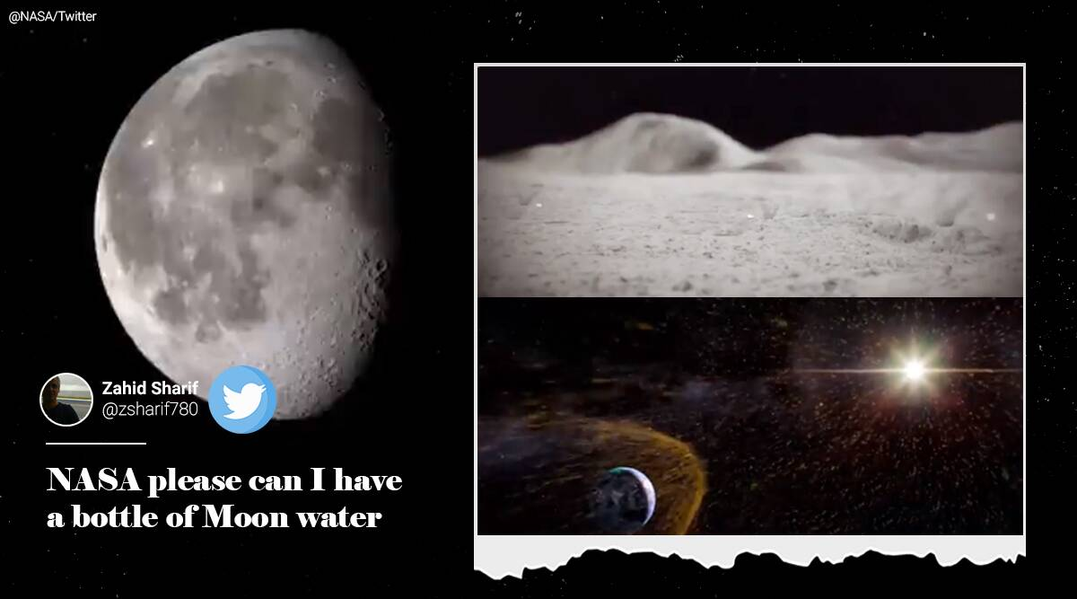 Confirmed! Water exists on the moon