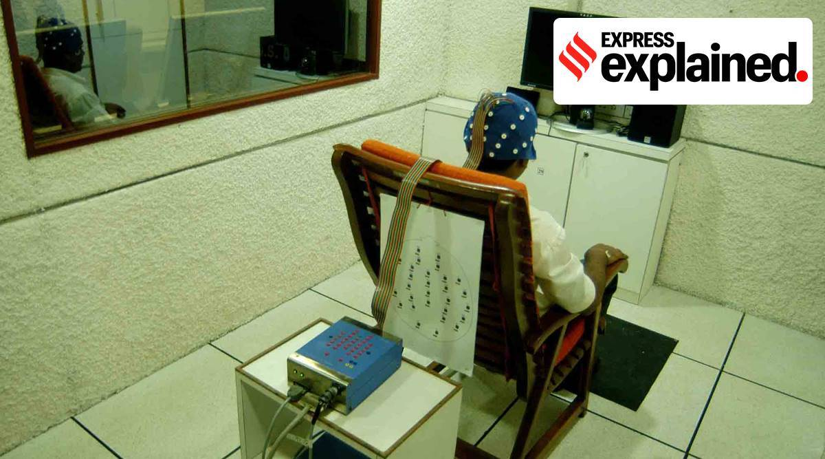 Narco test, Hathras gangrape, UP govt, Hathras men narco test, Narco test of Rape accused, what is narco test, Polygraph, express explained, Indian express