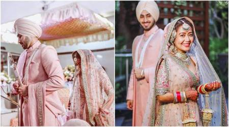 neha kakkar and rohanpreet singh wedding photos