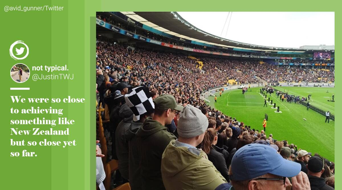 New Zealand, packed stadium, Rugby game stadium, New Zealand covid-19 updates, Trending news, Indian Express news.