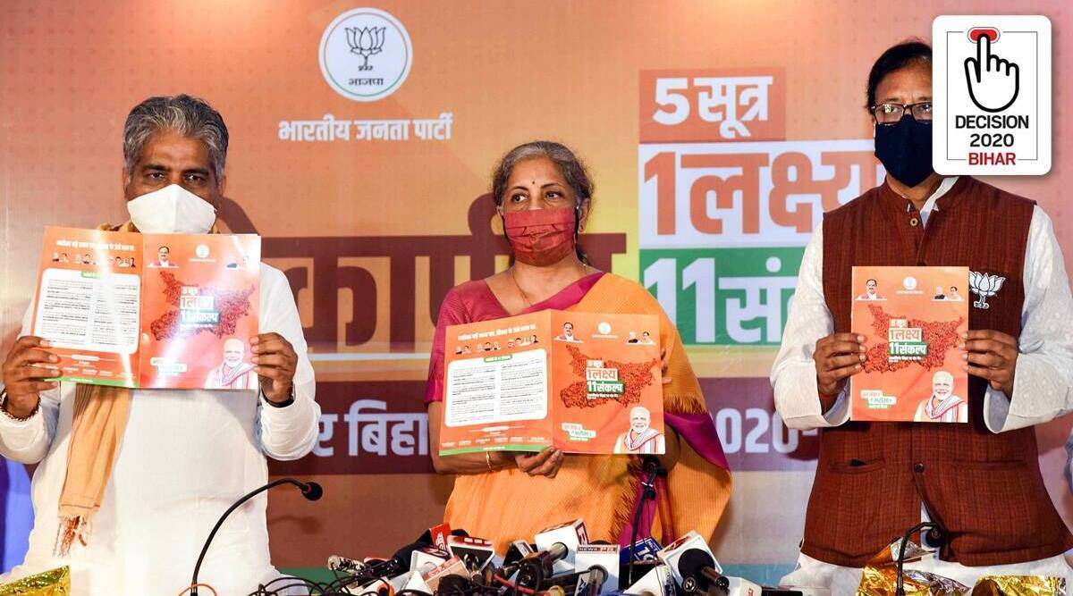 Manifesto 'Promise No. 1': BJP injects free Covid vaccine in Bihar elections