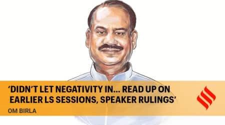 om birla, lok sabha speaker, parliament monsoon session, lok sabha, rajya sabha, covid 19, indian express news