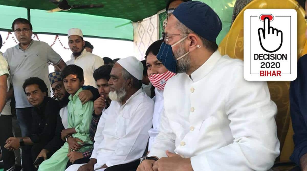 'Defeat Mahagathbandhan': Asaduddin Owaisi draws thousands in Kishanganj's Kochadhaman