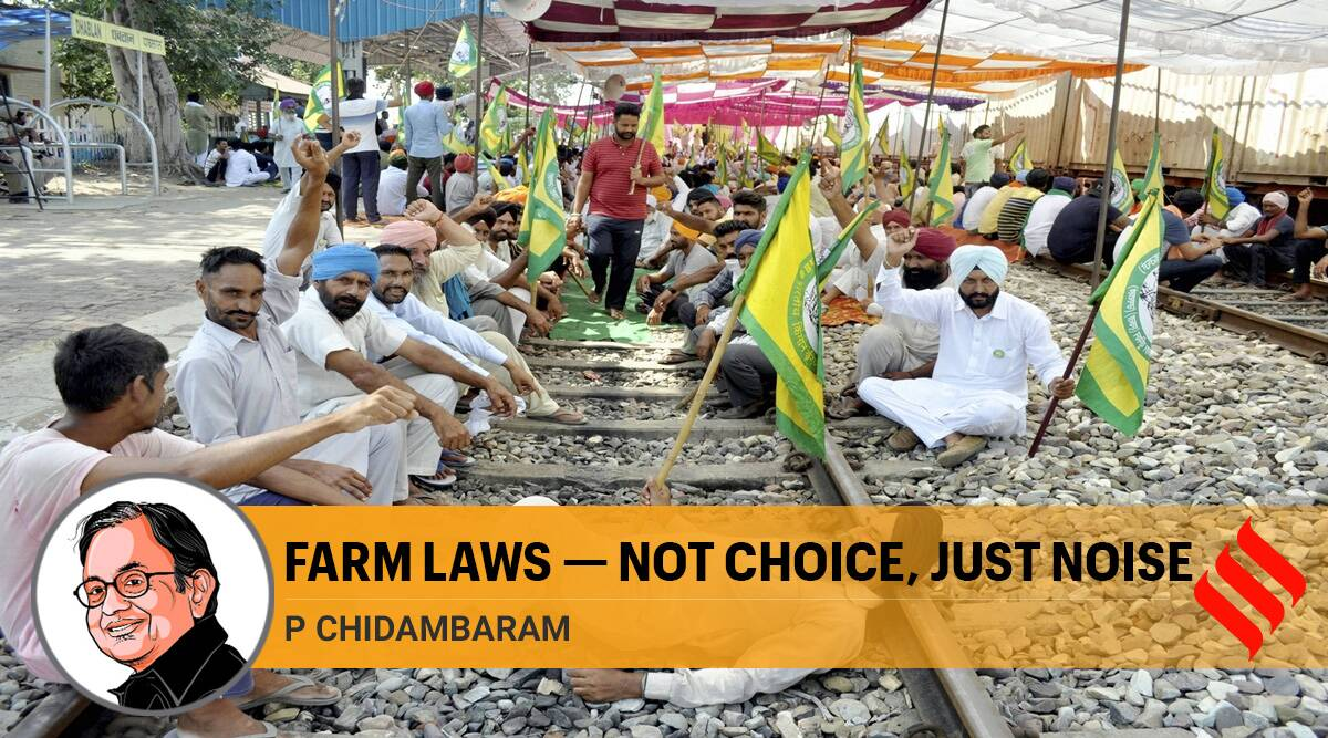 farmers protests, farm bills, farm laws, farm reform laws, apmc, apmc act, farm bill protests, p chidambaram