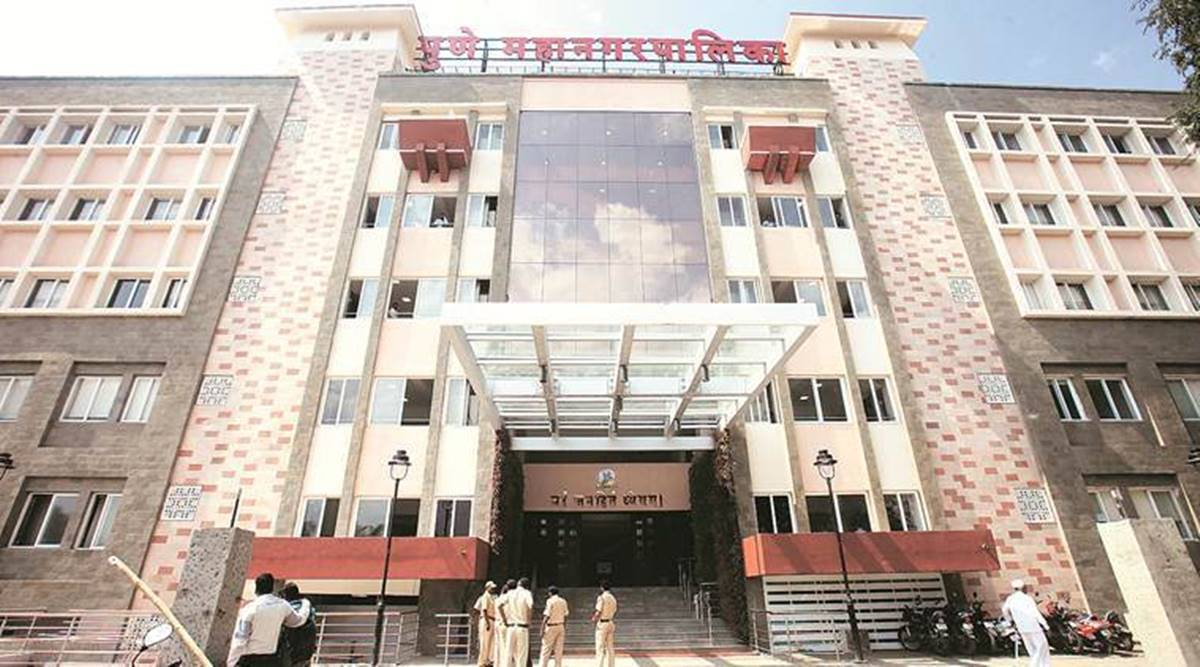 pune city news, pune municipal corporation, pune civiv body, pmc online meeting, pmc warning to officials