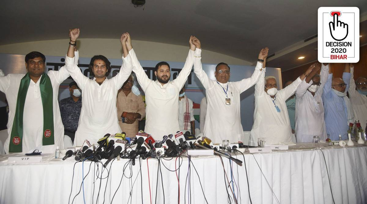 Explained: What constitutes the Mahagathbandhan and what is its social composition? - The Indian Express
