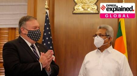 Mike Pompeo on Asia, Pompeo, Pompeo on China, US India ties, US India 2+2 dialogue, India China news, Indian Express
