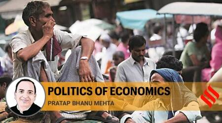 Labour laws, indian Economy, India Economy growth, GDP growth, farmers protests, migrant labourers, Atmanirbhar Bharat, Indian Express