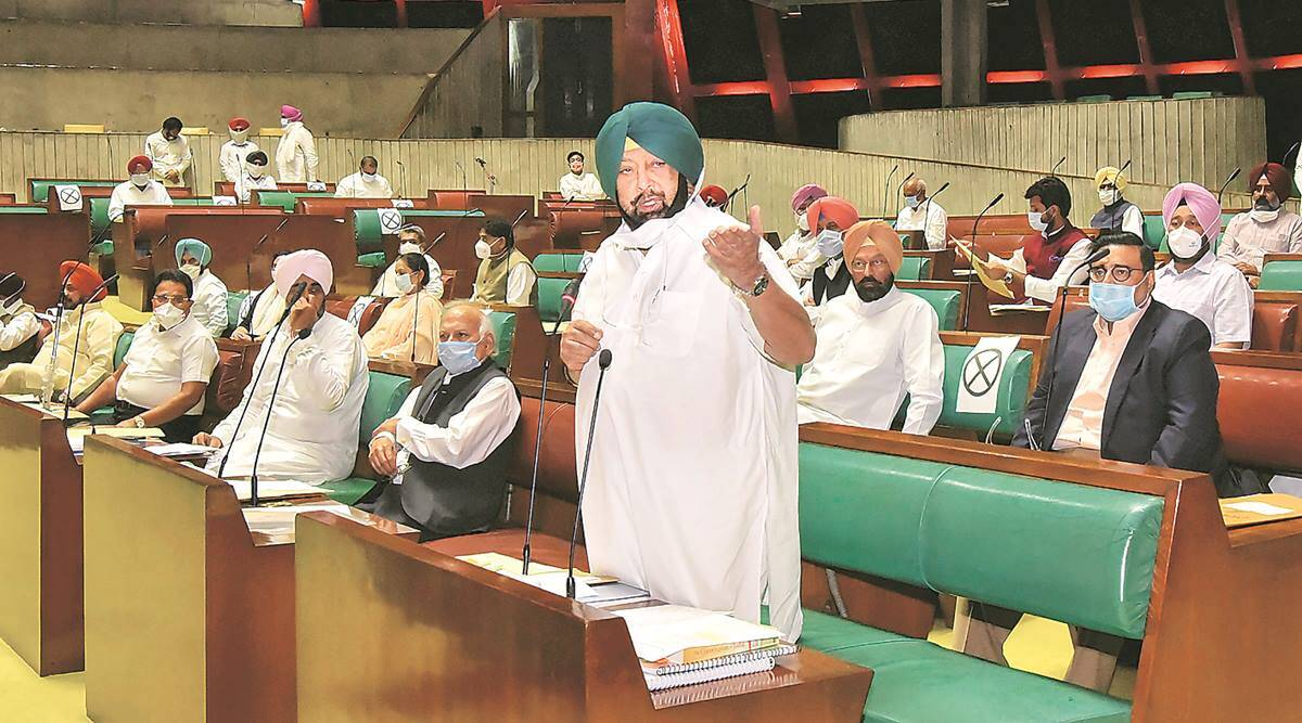 Farm Bills, Farm laws, Punjab farm bills, Punjab farmers, farmer protests, Ram Nath Kovind, Amarinder Singh, Punjab news, Indian Express
