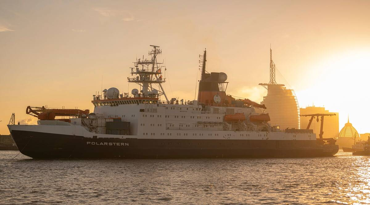 RV Polartstern, Arctic Expedition, EU Arctic expedition