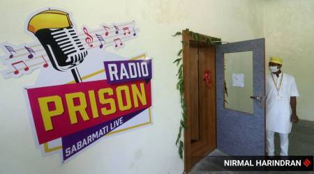 Sabarmati Jail radio station, Gujarat prison radio station, radio programme for prisoners, Gandhi Jayanti, Mahatma Gandhi, Prison Radio, Gujarat news, Indian express