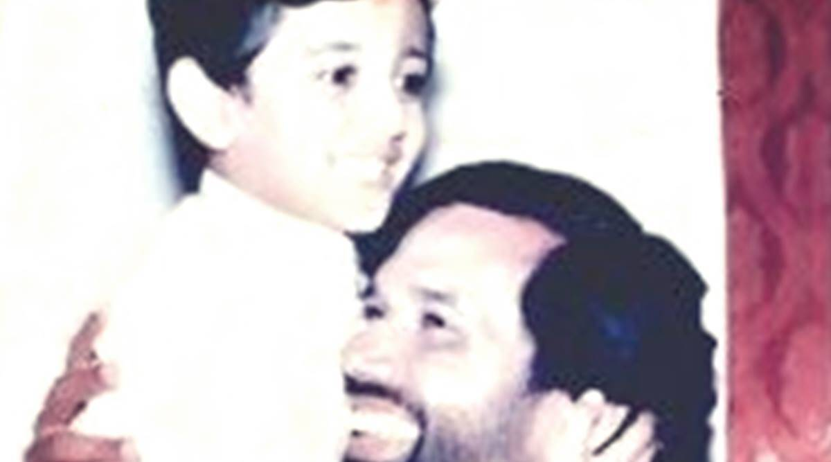 'Miss you Papa': Chirag shares childhood pic with Ram Vilas Paswan as he announces father's demise