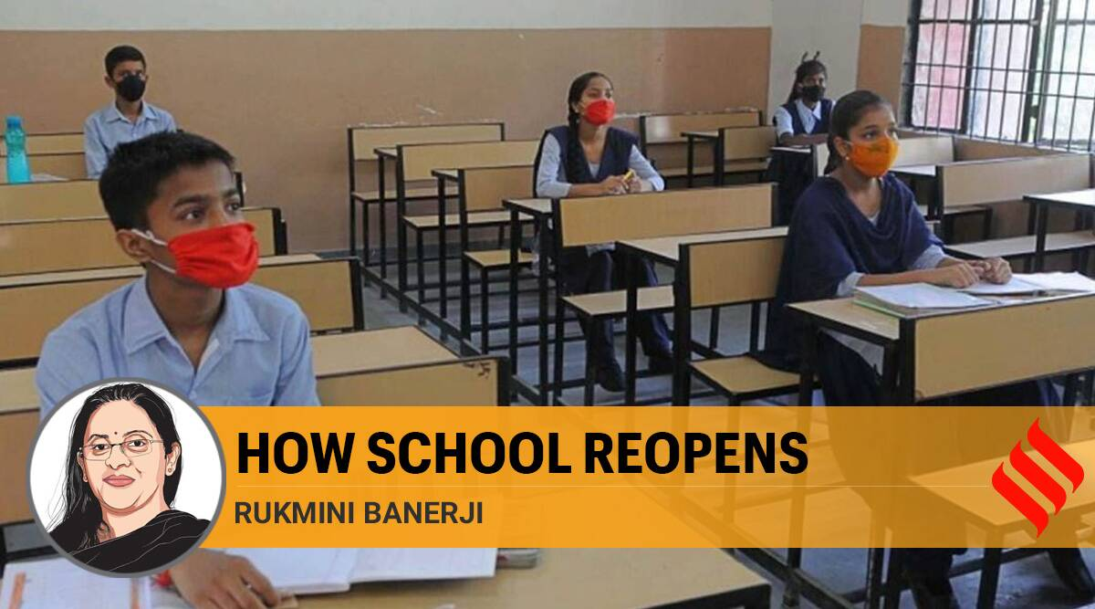 Coronavirus schools, Covid students, schools reopen, covid safety in schools, teachers students, online education, school during covid, indian express opinion